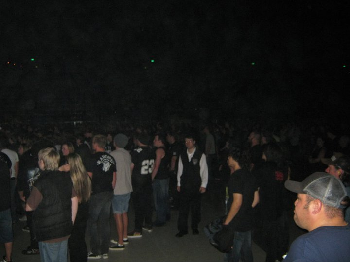 Jason at an arena