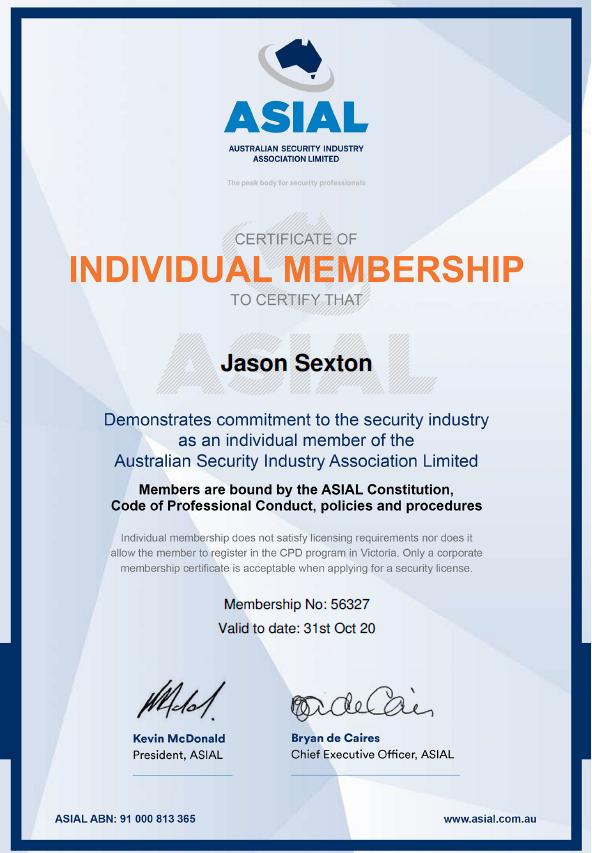 ASIAL Individual Membership