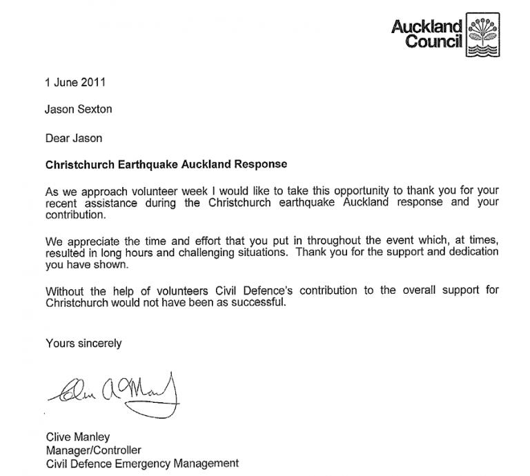 Earthquake Response Reference