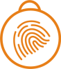 Icon of finger print