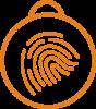 Icon of finger print